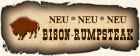 Bison Rumpsteak
